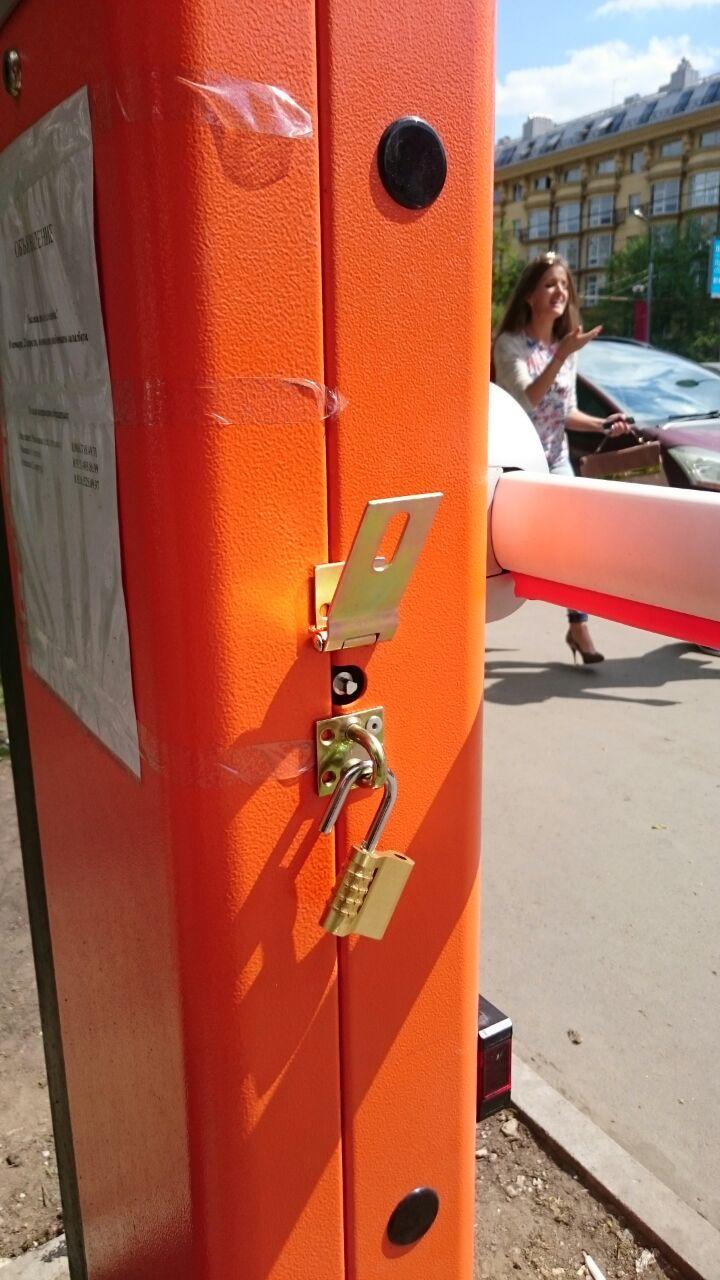Защита штатного механизма разблокировки привода